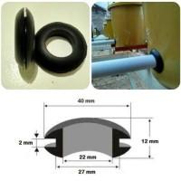 Grommet Rubber Seal 12 utk Dutch Bucket Hidroponik dan Aquap T2709