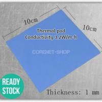Thermal Pad GPU CPU Heatsink Cooling Conductive Silicone 10cmx10cmx0.1