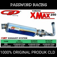 harga Knalpot Cld C3 X Max Silencer H.blue Tokopedia.com