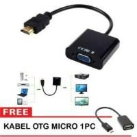 Converter Hdmi To Vga Free Kabel Otg Micro Usb