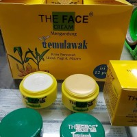 CREAM TEMULAWAK THE FACE ORIGINAL BPOM HOLO EMAS