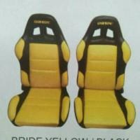 harga Jok Racing Import Bride Warna Kuning Kombinasi Hitam Harga Per 1 Set Tokopedia.com