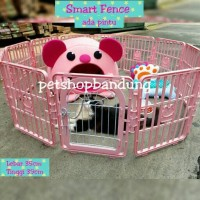 harga Smart Fence Kandang Pagar Ada Pintu/ Kandang Anjing / Kandang Kucing Tokopedia.com