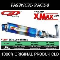 harga Knalpot Cld C2 X Max Silencer H.blue Tokopedia.com