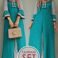 Fahrani Set Baju Muslim Wanita Kekinian Busana Muslim Kekinian