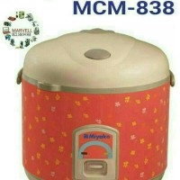 Magicom miyako rice cooker mcm 838 big capacity 2.2L