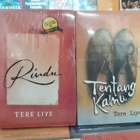 novel Tere Liye RINDU & TENTANG KAMU 2 buku
