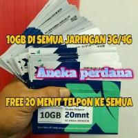 harga Kuota Internet 10gb Xl 4g Tokopedia.com