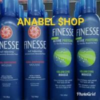 Hairspray Finesse Hair Spray Volumizing & Curl Defining Mousse