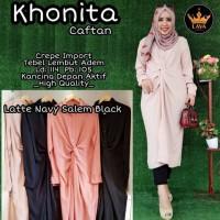 Baju Atasan Wanita Muslim Blouse Khonita Kaftan