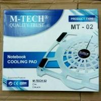 Cooling pad/cooling fan untuk pendingin laptop MT-02