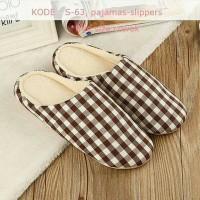 harga Man Pajamas Slipper - Sendal Tidur Cowo Cewe Free Size - Sandal Tokopedia.com