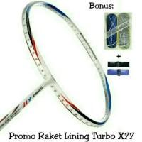 SALE!!!! Raket Badminton LINING TURBO X77 / X 77 ORIGINAL
