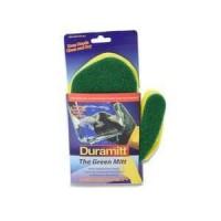Duramitt sarung tangan kiri dengan spons hijau / glove cuci piring