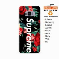 Supreme case samsung s6 s7 s8 edge j3 j5 j7 a5 a3 iphone 4 5 6 7 plus