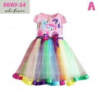 Jual Dress Rainbow My Little Pony merk Suki Murah
