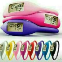 Harga harga murah jam tangan gelang sporty silicon led warna | antitipu.com