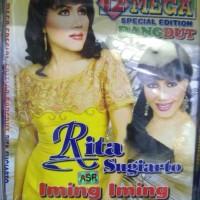 VCD ORIGINAL 12 MEGA SPESIAL EDITION DANGDUT RITA SUGIARTO IMING IMING
