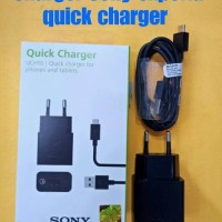 harga Charger Sony Experia Uch10 Quick Charher Micro Usb Original Tokopedia.com