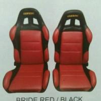 harga Jok Racing Import Bride Warna Merah Kombinasi Hitam Harga Per 1 Set Tokopedia.com