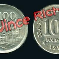 Jual Uang Kuno Seratus Rupiah Rp. 100 rupiah Uang Logam Tebal Murah