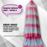 harga Mukena Rainbow Layer Varian 1 Tokopedia.com