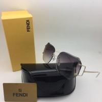 Kacamata Fendi 5002 Beige Kacamata Wanita Gaya Kekinian Murah