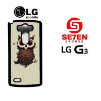 harga Casing Hp Lg G3 Coffee Owl Custom Hardcase Tokopedia.com