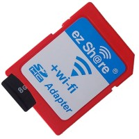 EZ Share WiFi microSD Adapter Card Reader Up To 32GB Red T0310
