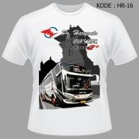 Kaos Tshirt Baju Bis Po Haryanto Java KIng Jetbus SHD