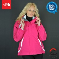 Jaket The North Face Womens Kira Triclimate Fusion Pink ORIGINAL