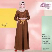 ElTeen Series ET 5 by Elif / Gamis / Dress Muslim