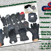 Thick Windproof Gloves Ziener Gore-Tex - Sarung Tangan Outdoor Hiking