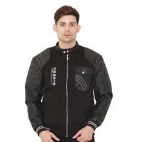Sweater / Jaket Hitam Pria Keren- ZNC 004