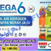 PROMO !!! NEW MEGA 6 Jumbo ( L 600 ml ) Botol Air Terapi Diabetes