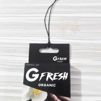 Parfum Organik G-Fresh - VANILLA / Pewangi Mobil & Ruangan anti tumpah