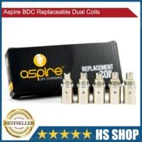 Aspire BDC Replaceable Dual Coils 2.1 Ohm 5 piece