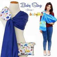 Babymix - Baby Sling Selendang Bayi -Gendongan Bayi Cukin- Blue Marine
