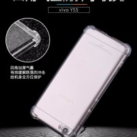 CASING COVER HP ANTICRACK VIVO Y55 Y55S SOFT BACK ANTIKNOCK