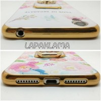 CASING COVER HP FLORAL + IRING OPPO NEO 9 A37 SOFTCASE BACK SOFT