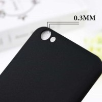CASING COVER HP SLIM BLACK VIVO V5 Y67 V5S V5 LITE SOFTCASE BACK