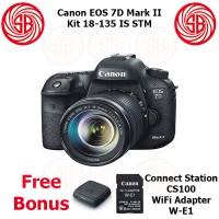 Kamera Canon EOS 7D Mark 2 + 18-135, Camera 7 D Mark II Kit, 20MP