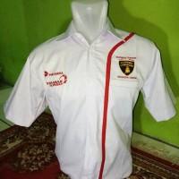 seragam pertamax turbo putih - makmur online shop
