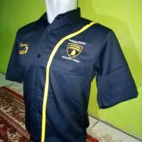 seragam pertamax turbo navy - makmur online shop