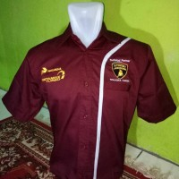 seragam pertamax turbo merah - makmur online shop