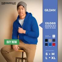Jual Gildan Sweater Zip Hoodie 88600 Polos Import Original Murah S M L XL Murah