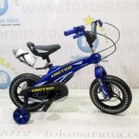 12in United Aero Magnesium Alloy Frame Sepeda Anak Laki Laki