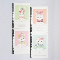 Song and Forest Spiral Ruled Notebook A5 / Buku Catatan Spiral Garis