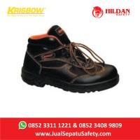 Sepatu Krisbow Goliath 6 inch Semi Boot Safety Bertali