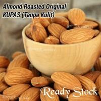 Jual Jual Roasted ( Panggang ) 250gram Almond USA - California Murah Murah